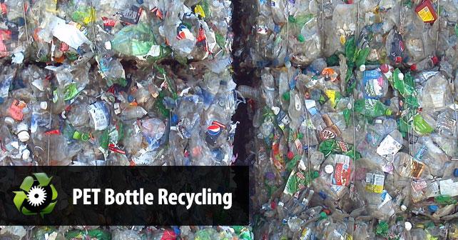فرایند کامل بازیافت پلی اتیلن ترفتالات PET
