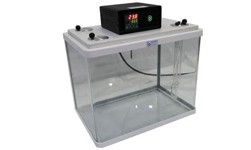 ویسکومتر آبلهود، محفظه آزمون (حمام آب) و سایر تجهیزات