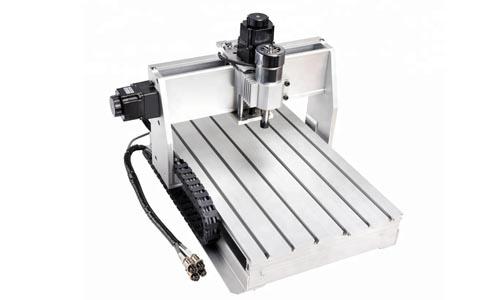 دستگاه فرز CNC سه محور نمونه های پلیمری