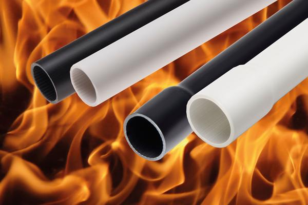 آزمون مقاومت به گسترش شعله در لوله محافظ هادی (لوله برقی)